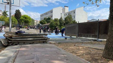 Okul Bahçesine Okul Yapılıyor