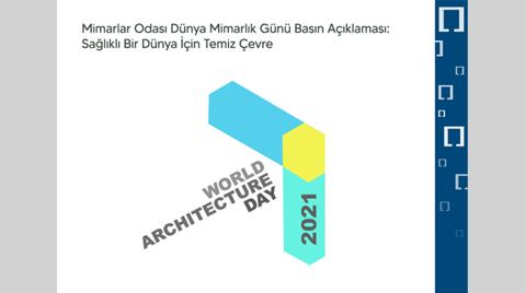Mimarlar Odası'ndan, Dünya Mimarlık Günü Açıklaması