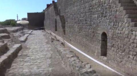 Diyarbakır Surları'nda 'Altyapı Giderleri' Bulundu