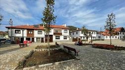 Tarihi Kafkas Köyü Meydanı Osmanlı Mimarisiyle Yenilendi