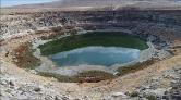 Timraş Obruk Gölü'nde Su Seviyesi Dibe Vurdu