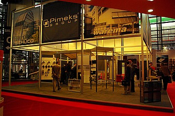 Pimeks Alüminyum PVC ve Metal San. Tic. A.Ş. standı