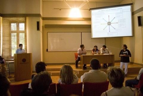 Yıldız Teknik Üniversitesi'nde gerçekleştirilen toplantı