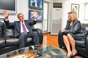 Aziz Kocaoğlu ve Şebnem Bursalı
