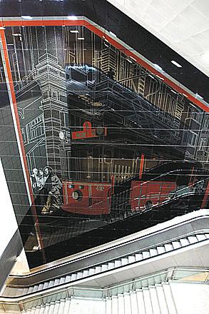 Sezener'in 'nostaljik kırmızı tramvayı'