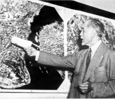 Henri Prost, İstanbul Nazım Planı'nı, Paris'te Güzel Sanatlar Akademisi'nde sunmuştu