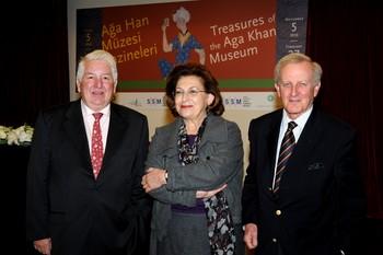 Benoit Junod, Nazan Ölçer ve Luis Monreal
