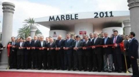 MARBLE 2011'i 55 Bin 445 Kişi Ziyaret Etti