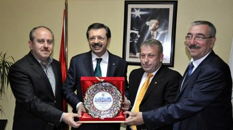 TOBB Başkanı Hisarcıklıoğlu Lüleburgaz'a Üniversite Sözü Verdi