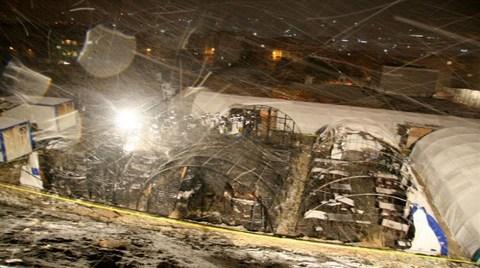 Marmara Park Şantiyesi Yangın İnceleme Heyeti Raporunu Açıkladı